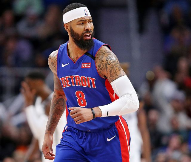 Pistons Markieff Morris Changes Number To Honor Kobe Bryant
