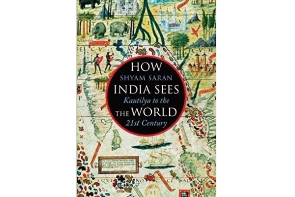 Cover of Saran's 'How India sees the world'