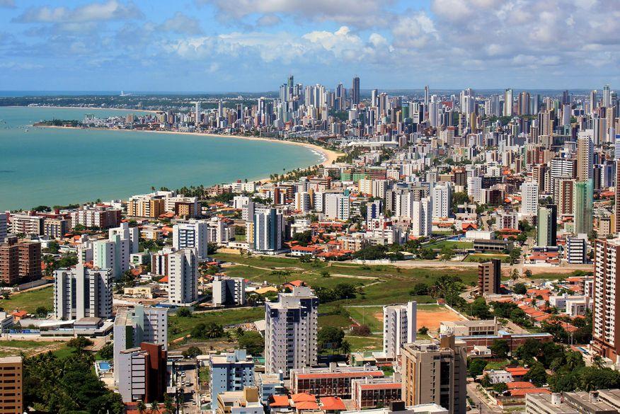 orla de joao pessoa foto aerea walla santos - Orla de João Pessoa é destaque internacional por ser considerada a mais bonita do Nordeste
