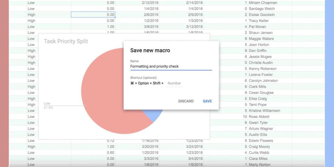 Huge Google Sheets Update Introduces Macros, Quality Of Life Changes