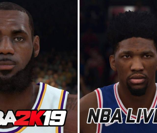 Nba 2k19 Vs Nba Live 19 Which Is The Better Basketball Game