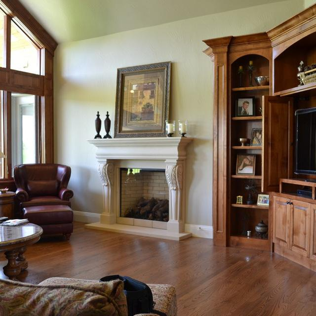 living room fireplace off centered wall art how to increase your home s resale value with a makeover