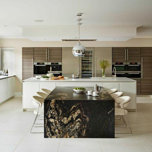 white kitchen countertops floating island 6 countertop color styles to consider