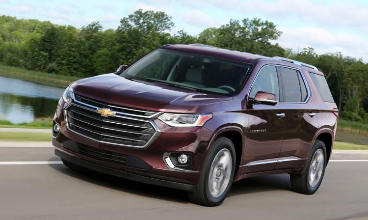 hight resolution of 2018 chevrolet traverse chevy s big suv gets bigger and better where it counts
