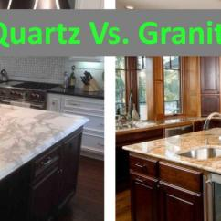 Kitchen Countertops Quartz Island With Butcher Block Top Vs Granite A Geologist S Perspective