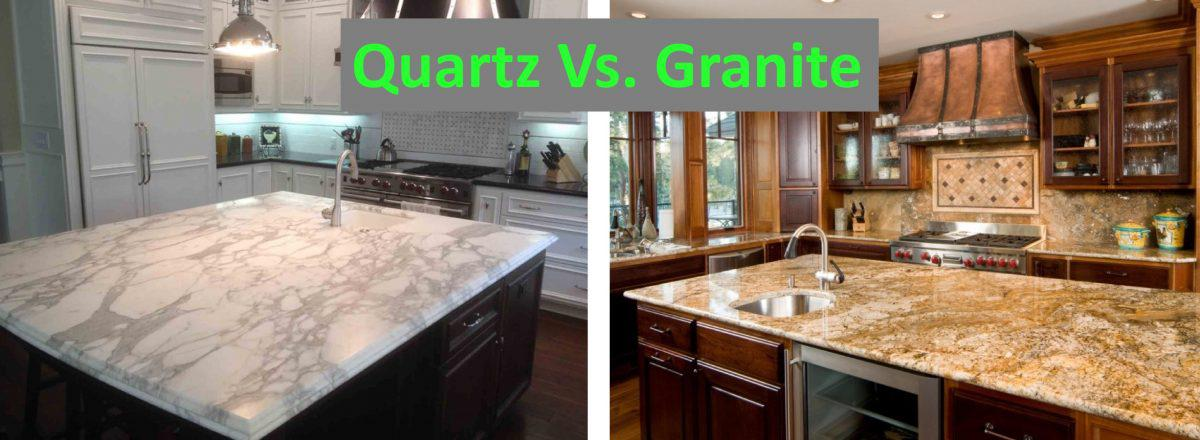 granite kitchen countertops pictures craigslist table quartz vs a geologist s perspective