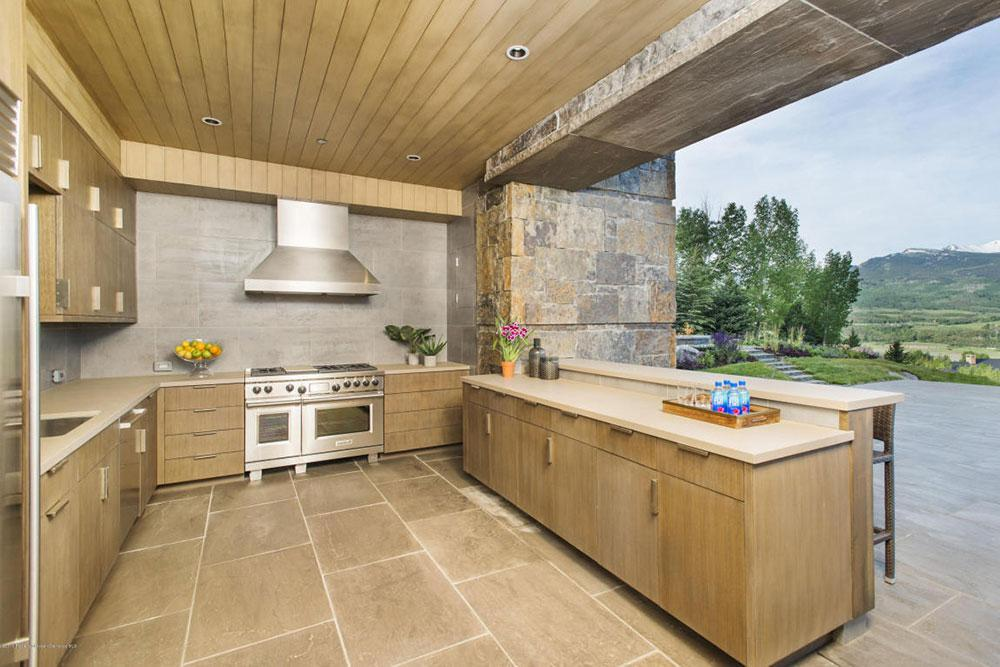 outdoor kitchen for sale best flooring a 10 homes with stunning kitchens