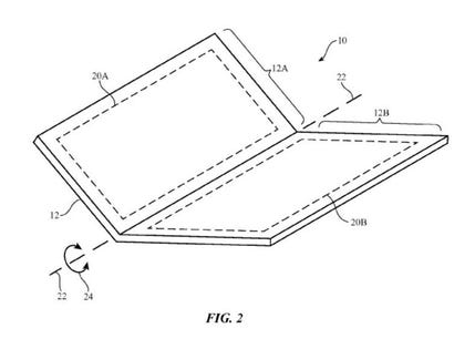 Apple Receives Patent For A 'Foldable' iPhone Design