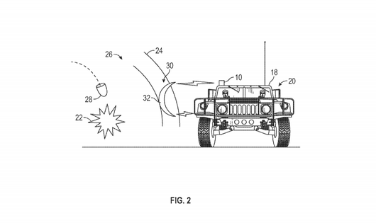 Boeing Patents Futuristic Force Field