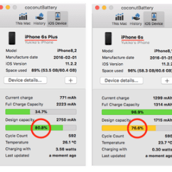 0 Amperage Macbook Battery 88 Toyota 22re Engine Diagram Here S How To Check The Health Of Your Iphone Reliably And For Free