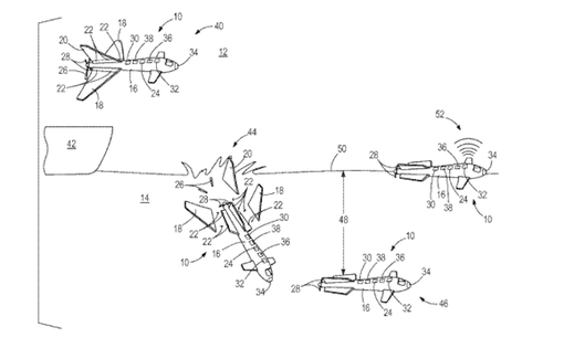 Boeing's New Patent Transforms A Drone Into A Submarine
