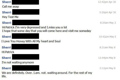 Frustrated Lawyer Inundated With Facebook Messages