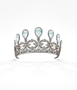 Rare Historic Fabergé Tiara Of Imperial Russian Provenance