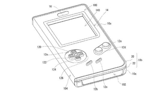 Nintendo Has Patented A Game Boy Case For Smartphones And
