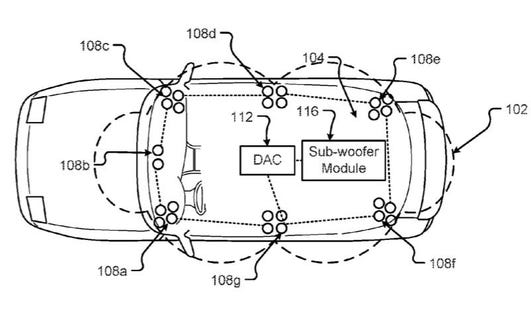 NIO Patent Application Just Puts The Speakers Anywhere In