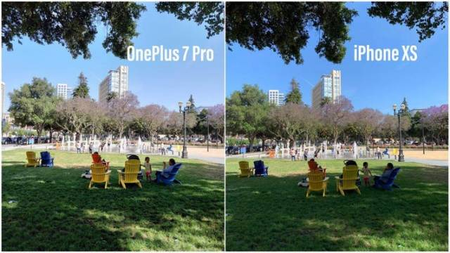 The OnePlus 7 Pro's image can go toe to toe with the iPhone XS during the day…