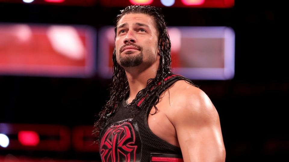 wwe raw results roman