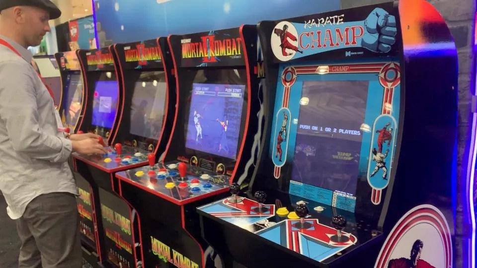 replica arcade machines win
