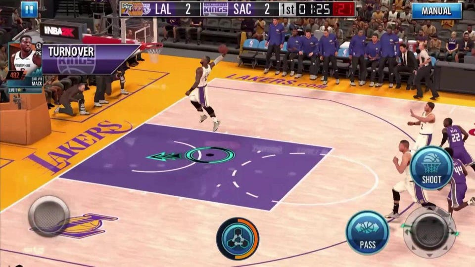 nba 2k mobile available