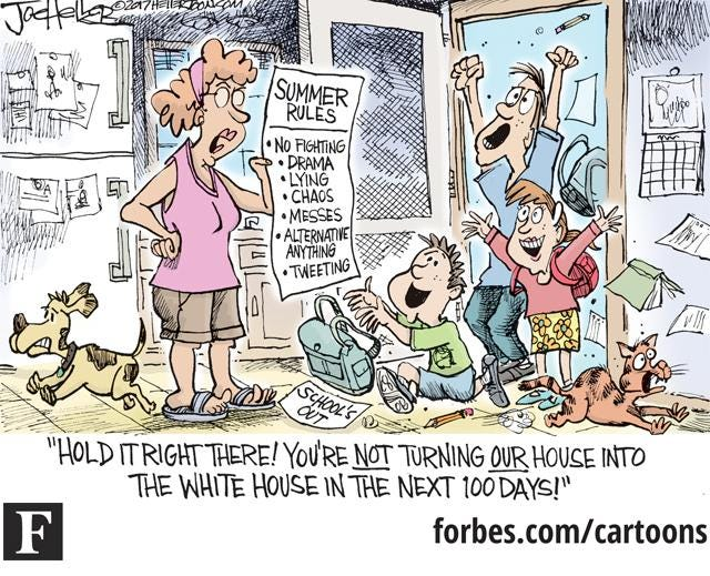Parents Beware Don T Let Your Kid S Summer Vacation Turn Your Home Into The White House