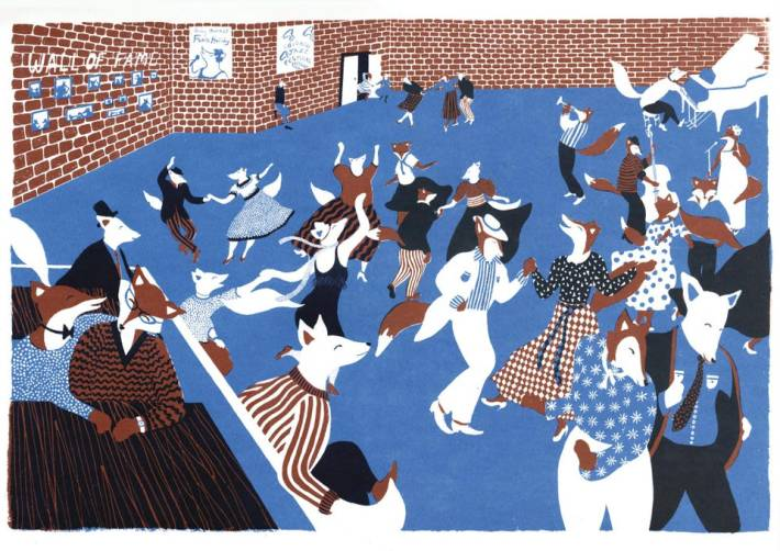 Student Illustrator Of the Year: Junli Song - Dance(Cambridge School of Art)