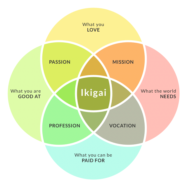 hight resolution of find your ikigai
