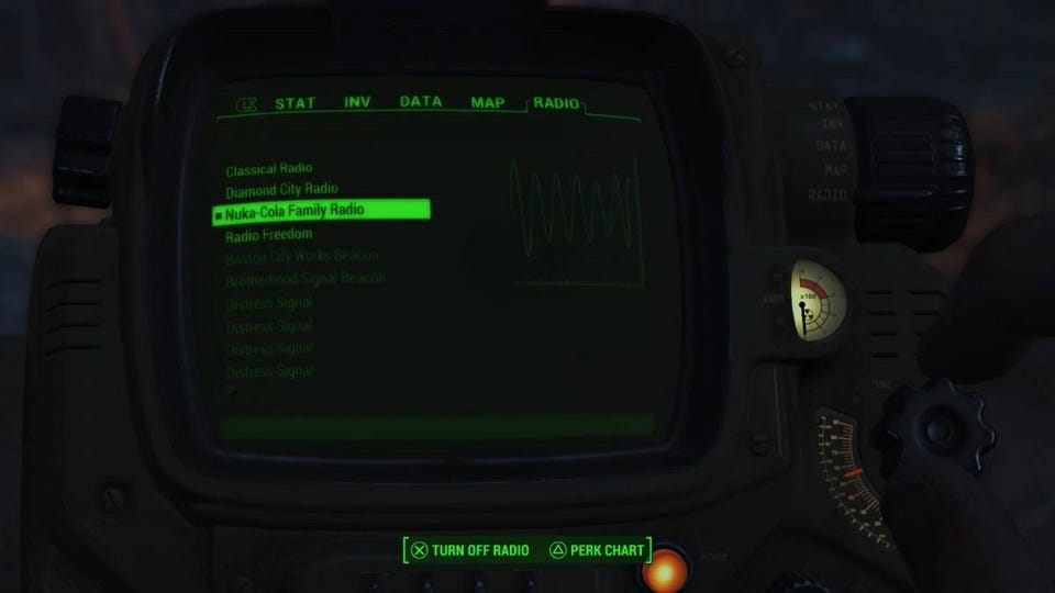 how to start fallout