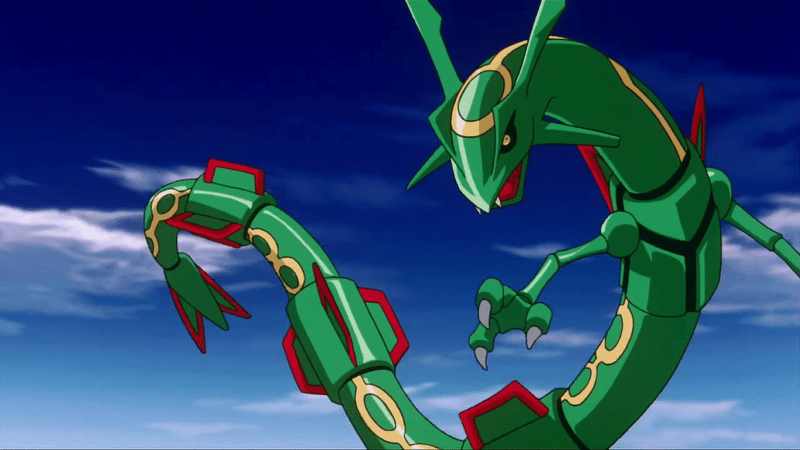 rayquaza is live in