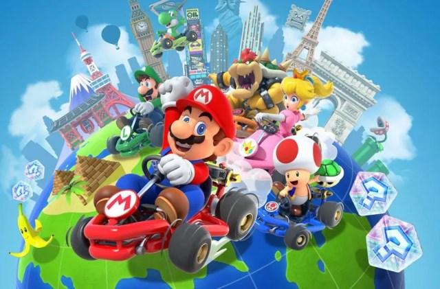 """Résultat de recherche d'images pour """"mario kart tour characters"""""""