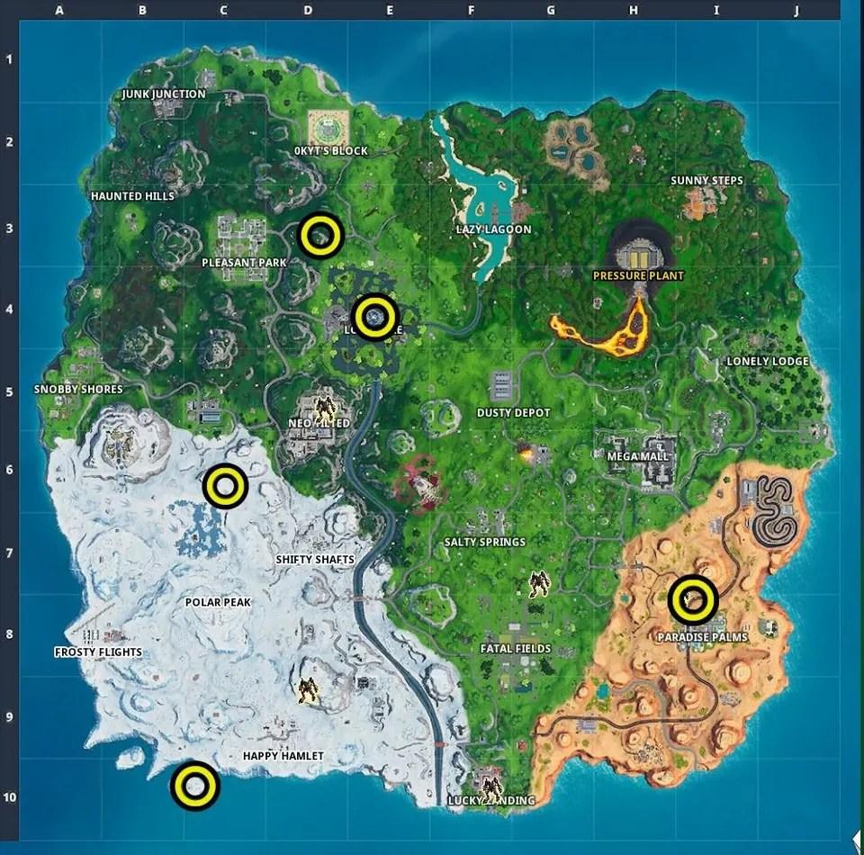 fortnite rift locations where