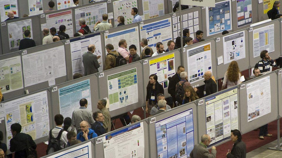 scientific conference posters
