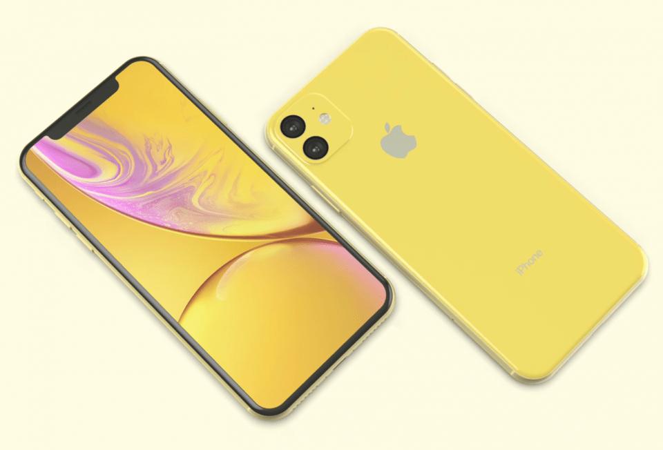new iphone xr2 renders