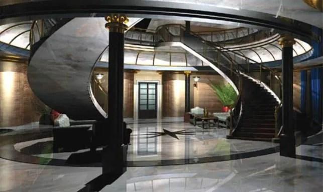 Vivos E1 Inspiration Foyer Stairs