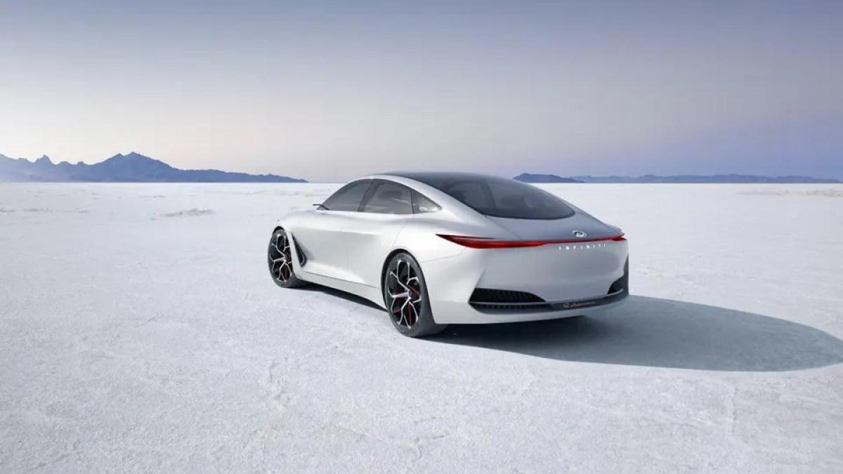 Revealed At The Detroit Auto Show Infinitis Q Inspiration Concept Hints At Future Design Direction