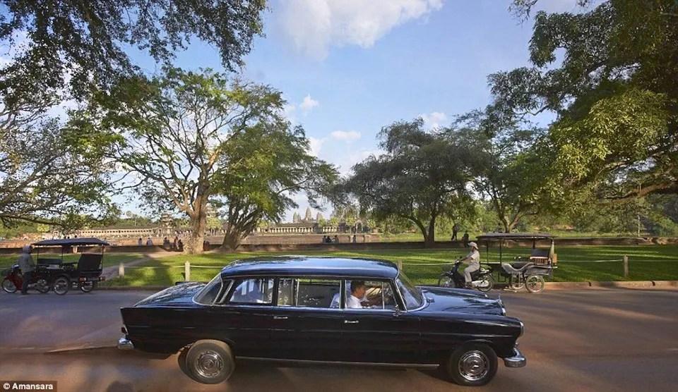 Amansara Siem Reap Cambodia 1965 Mercedes-Benz