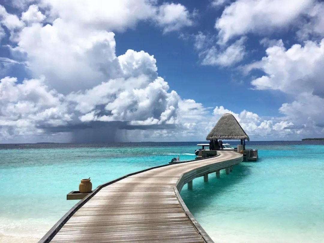 A classic Maldives resort.