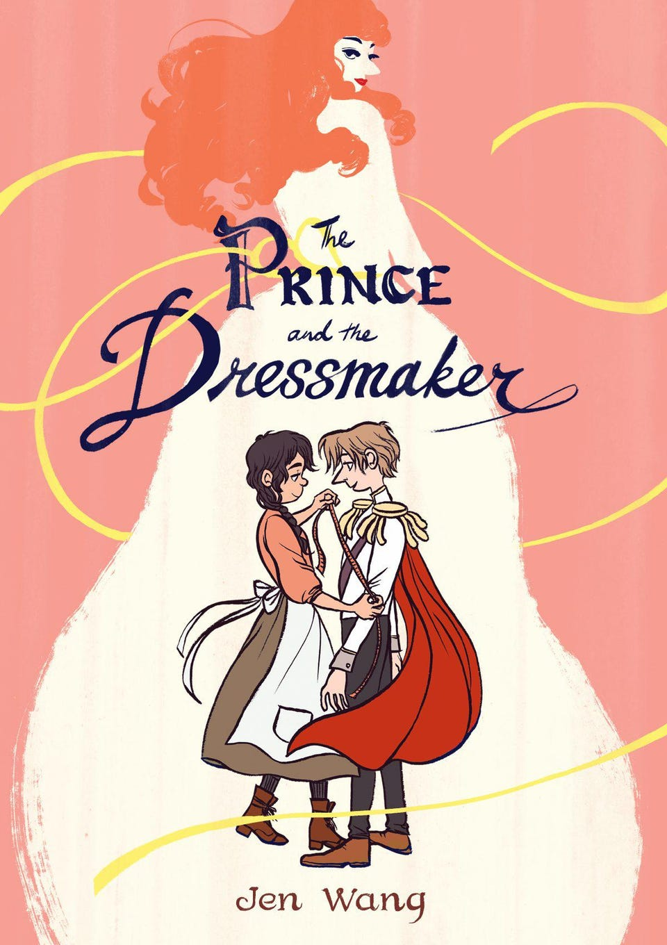 hight resolution of  the prince and the dressmaker is a genderqueer fairy tale for all ages