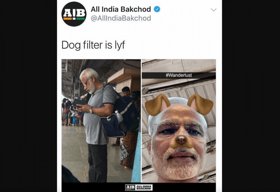 How A Meme Of Indian PM Modi With Puppy Ears Provoked Police ...