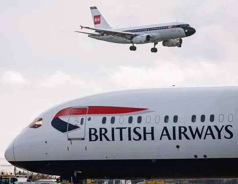 british airways centenary becomes