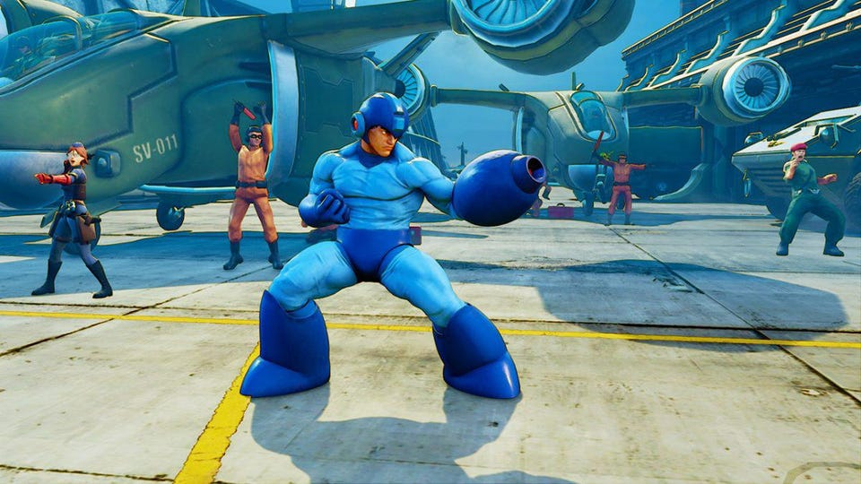 mega man outfits are