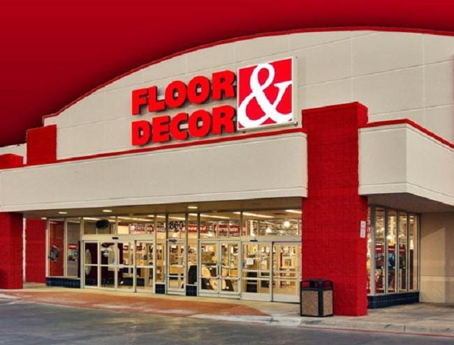 why floor and decor is the category