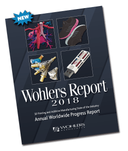 wohlers report 2018 3d