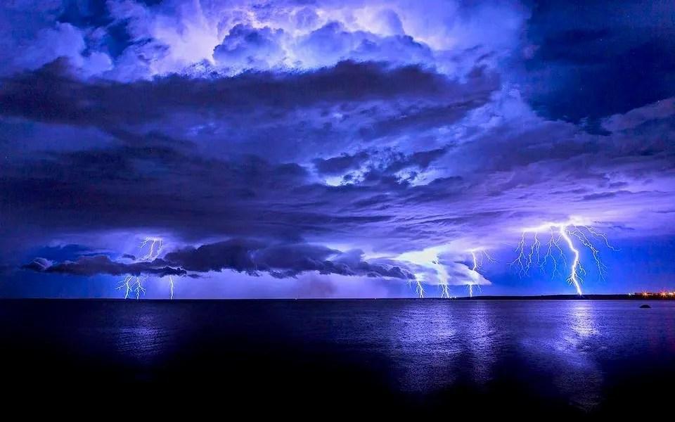 violent storm triggers 133