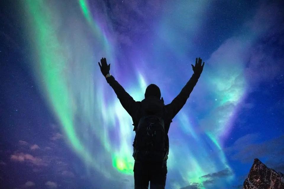 watch for aurora borealis