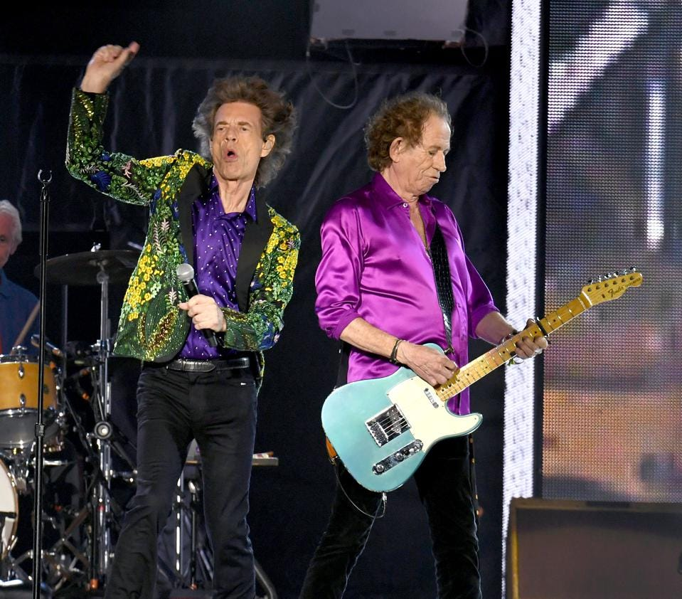 the rolling stones live