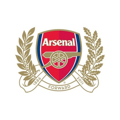 arsenal on the forbes soccer team