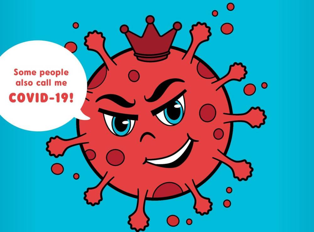 medium resolution of There Is A Coronavirus Coloring Book Designed To Help Children Cope With  The Pandemic