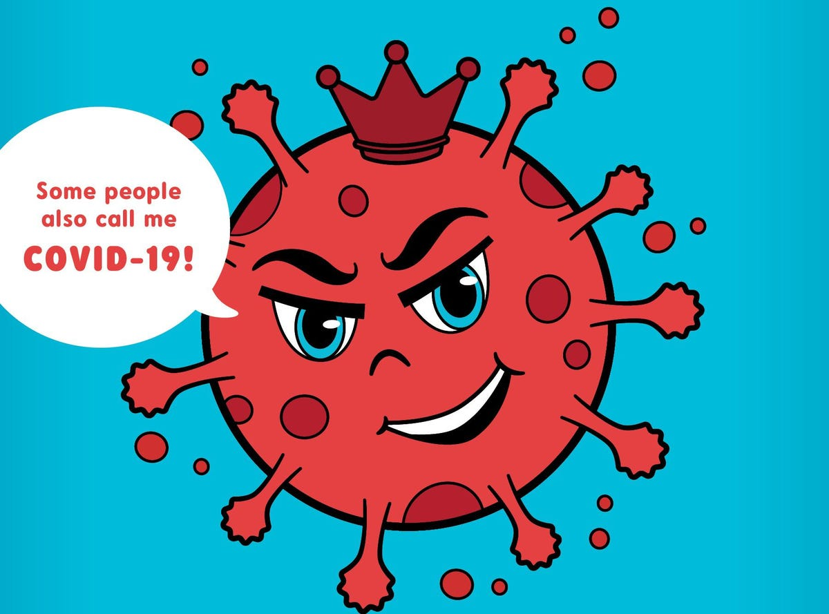 hight resolution of There Is A Coronavirus Coloring Book Designed To Help Children Cope With  The Pandemic