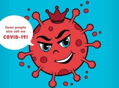 small resolution of There Is A Coronavirus Coloring Book Designed To Help Children Cope With  The Pandemic