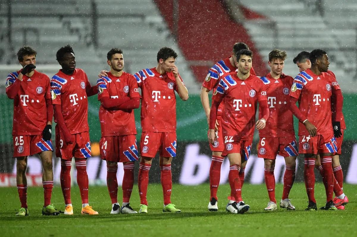 bayern munich dfb pokal defeat to